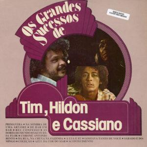 Cassiano, Hyldon, Tim Maia Os Grandes Sucessos Polyfar LP Vinyl