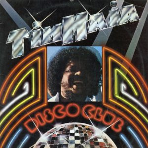 Tim Maia Disco Club Atlantic LP Vinyl
