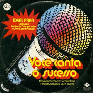 Various Você Canta O Sucesso RGE Original Vinyl