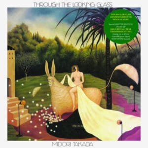 Midori Takada Through The Looking Glass WRWTFWW 2x12, Clear Vinyl, Reissue Vinyl