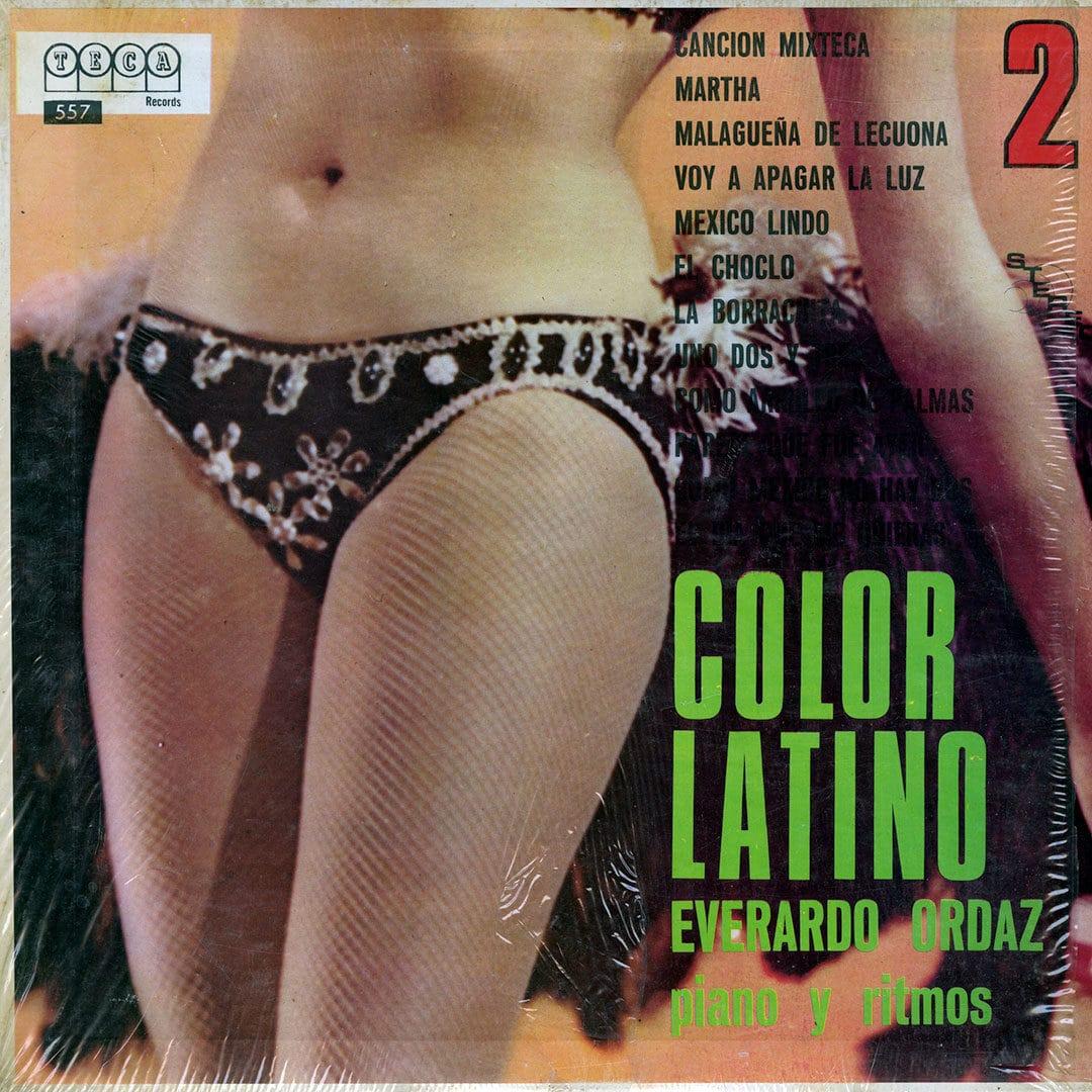Everardo Ordaz Color Latino, Vol. 2 Teca Records LP Vinyl