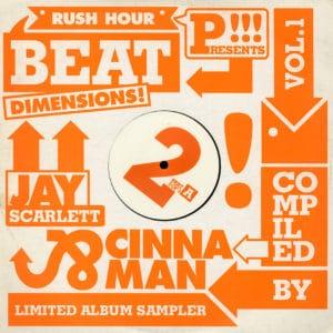 """Various Beat Dimensions, Vol. 1 (2/3) Rush Hour 12"""" Vinyl"""