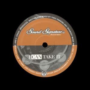 "Theo Parrish I Can Take It Sound Signature 12"" Vinyl"