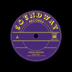 "Steve Monite, Tabu Ley Rochereau Only You / Hafi Deo Soundway 12"" Vinyl"