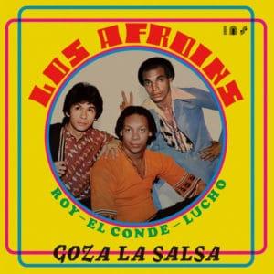 Los Afroins Goza La Salsa Vampi Soul LP, Reissue Vinyl