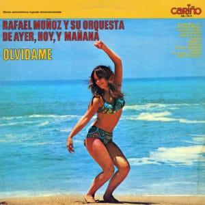 Rrafael Munoz y Su Orquesta Olvidame Cariño LP Vinyl