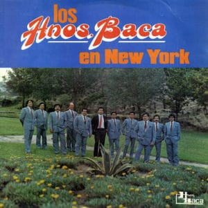 Los Hnos Baca en New York Hnos Baca LP Vinyl