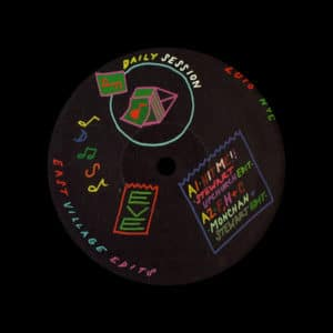 "DJ Monchan, Stewart Upchurch East Village Edits Dailysession 12"" Vinyl"