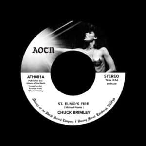 "Chuck Brimley St. Elmos Fire Athens Of The North 7"", Reissue Vinyl"