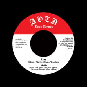 "GQ Lies / Is It Cool? Athens Of The North 7"", Reissue Vinyl"