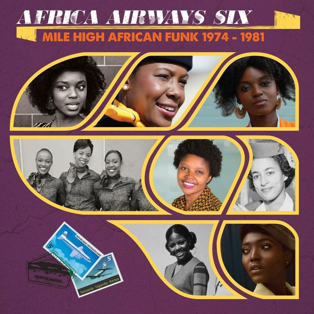 Various Africa Airways, Vol. 6 Africa Seven LP Vinyl