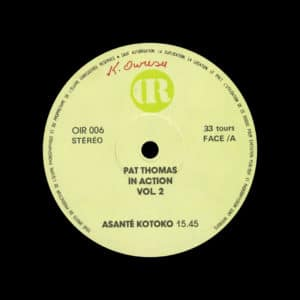 Pat Thomas In Action, Vol. 2 OIR LP Vinyl