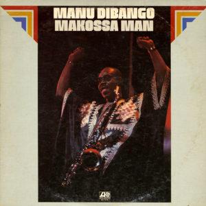 Manu Dibango Makossa Man Atlantic LP Vinyl