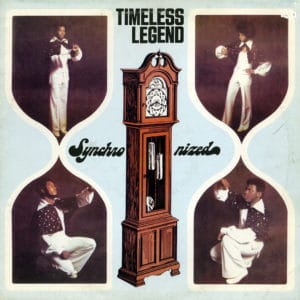 Timeless Legend Synchronized Escrow Records LP, Reissue Vinyl