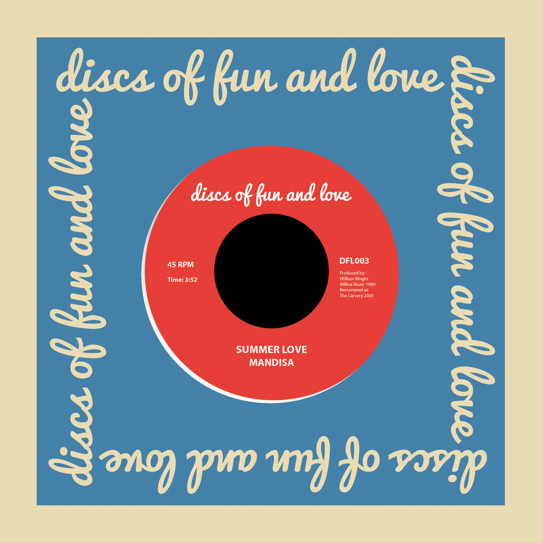 "Mandisa Summer Love / Love's Dream Discs Of Fun And Love 7"", Reissue Vinyl"