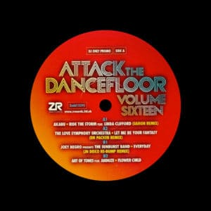 "Various Attack The Dancefloor, Vol. 16 Z Records 12"" Vinyl"