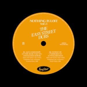 """Various Nothing Is Lost, Vol. 2 (Easy Street Dubs) Nothing Is Lost 12"""" Vinyl"""
