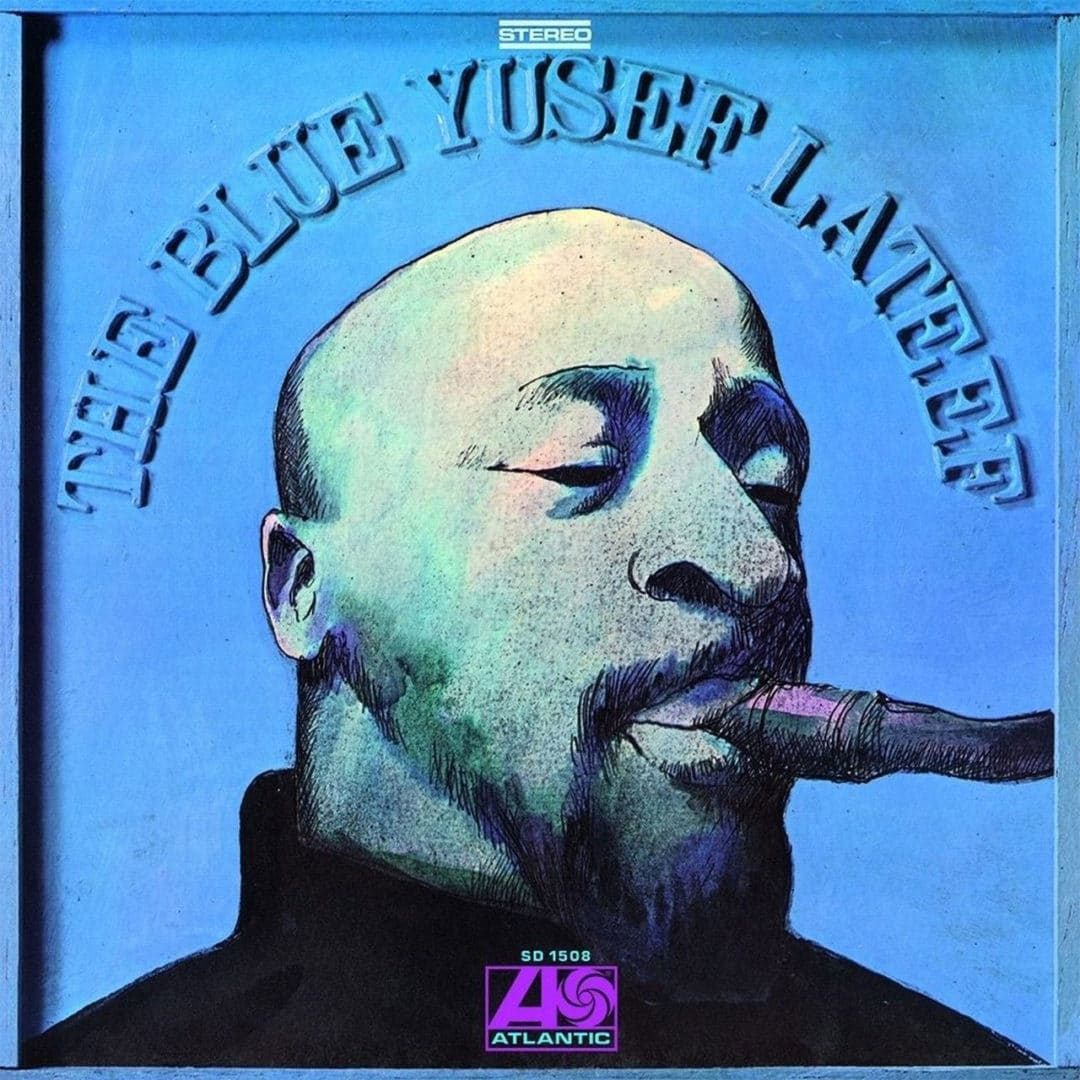 Yusef Lateef The Blue Yusef Lateef Atlantic LP, Reissue Vinyl