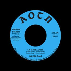 "Wilma Dias La Massagiste / Exotique Athens Of The North 7"", Reissue Vinyl"