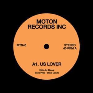 """Diesel MTN45 Moton Records 12"""" Vinyl"""