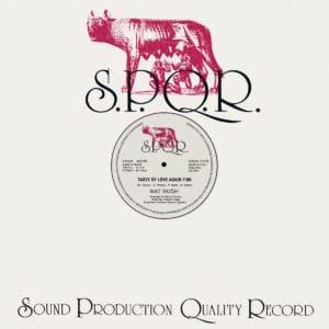 """Nat Bush Taste Of Love Again S.P.Q.R. 12"""", Reissue Vinyl"""
