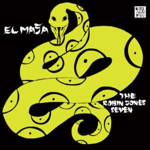 Robin Jones Seven El Maja Jazz Room Records LP, Reissue Vinyl