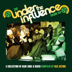 Faze Action Under The Influence, Vol. 6 Z Records 2xLP, Compilation Vinyl