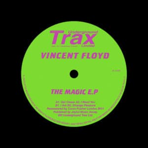 "Vincent Floyd The Magic EP Underground Trax 12"", Reissue Vinyl"