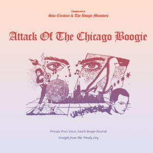 """Various Attack Of The Chicago Boogie Star Creature 12"""" Vinyl"""