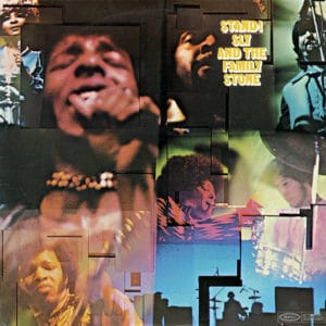 Sly And The Family Stone Stand! Epic LP, Reissue Vinyl