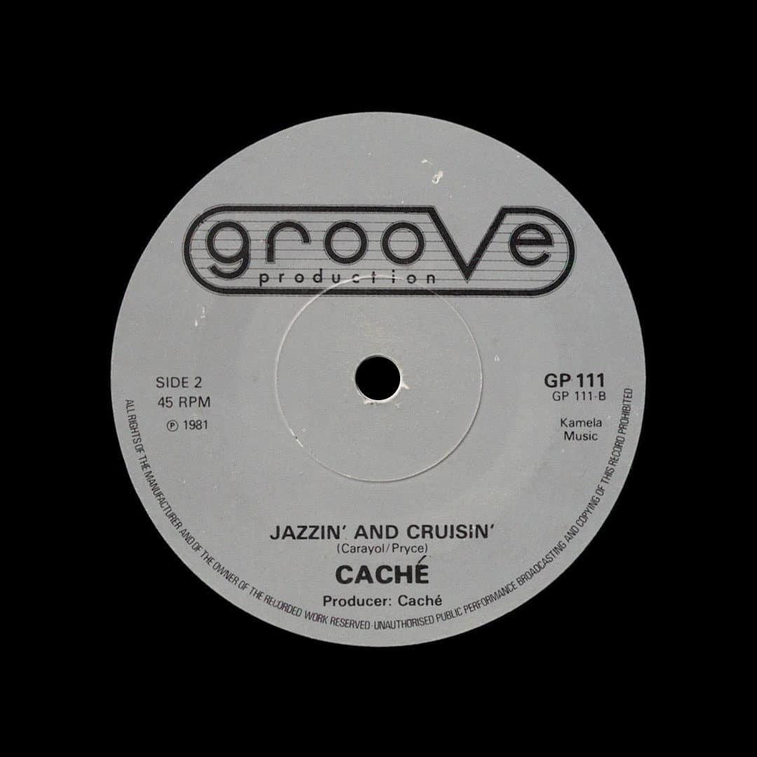 "Caché Jazzin And Cruisin / Where Is My Sunshine Groove Production 7"", Original Vinyl"
