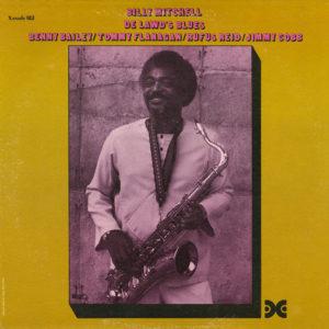 Billy Mitchell De Lawd's Blues Xanadu Records LP Vinyl