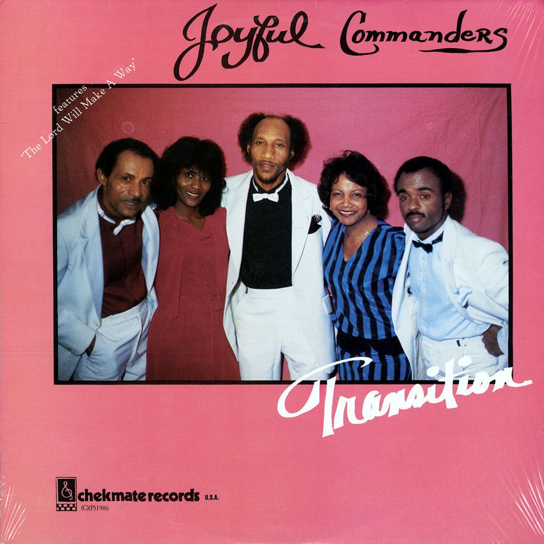Joyful Commanders Transition Chekmate Records LP, Original Vinyl