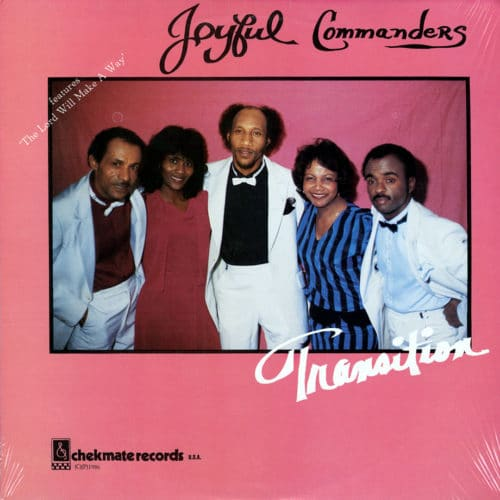 Joyful Commanders Transition Chekmate Records LP, Original Vinyl