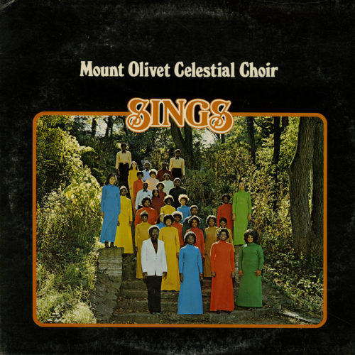 Mount Olivet Celestial Choir Sings Sound 80 LP Vinyl