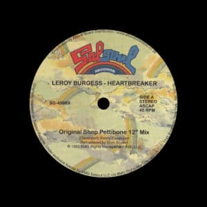 "Leroy Burgess Heartbreaker (Moplen Remix) Salsoul Records 12"", Reissue Vinyl"