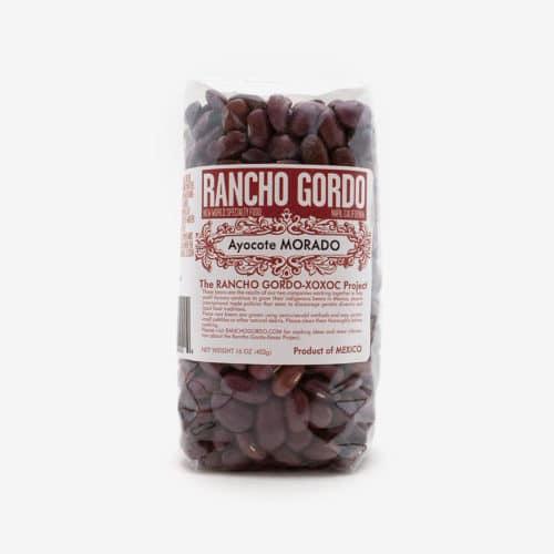 Gordo Rancho Ayocote Morado Beans