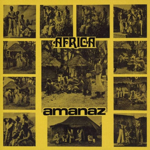 Amanaz Africa Now-Again LP, Reissue Vinyl