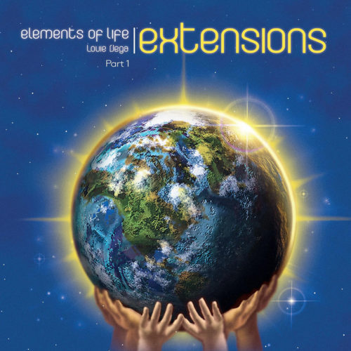 Louie Vega Elements Of Life: Extensions, Pt. 1 Vega Records 2x12, Reissue Vinyl