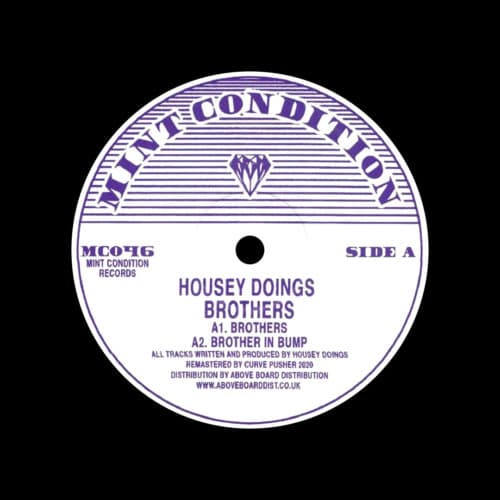 "Housey Doingz Brothers Mint Condition 12"", Reissue Vinyl"