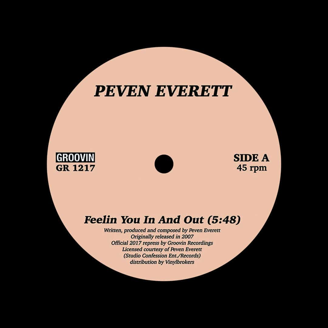 """Peven Everett Feelin You In And Out Groovin Recordings 12"""", Reissue Vinyl"""