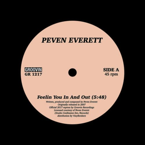"Peven Everett Feelin You In And Out Groovin Recordings 12"", Reissue Vinyl"