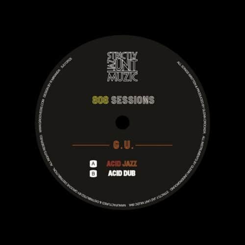 """Glenn Underground 808 Sessions Strictly Jaz Unit 12"""", Reissue, Repress Vinyl"""