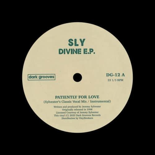 """Sly Divine EP Dark Grooves 12"""", Reissue Vinyl"""