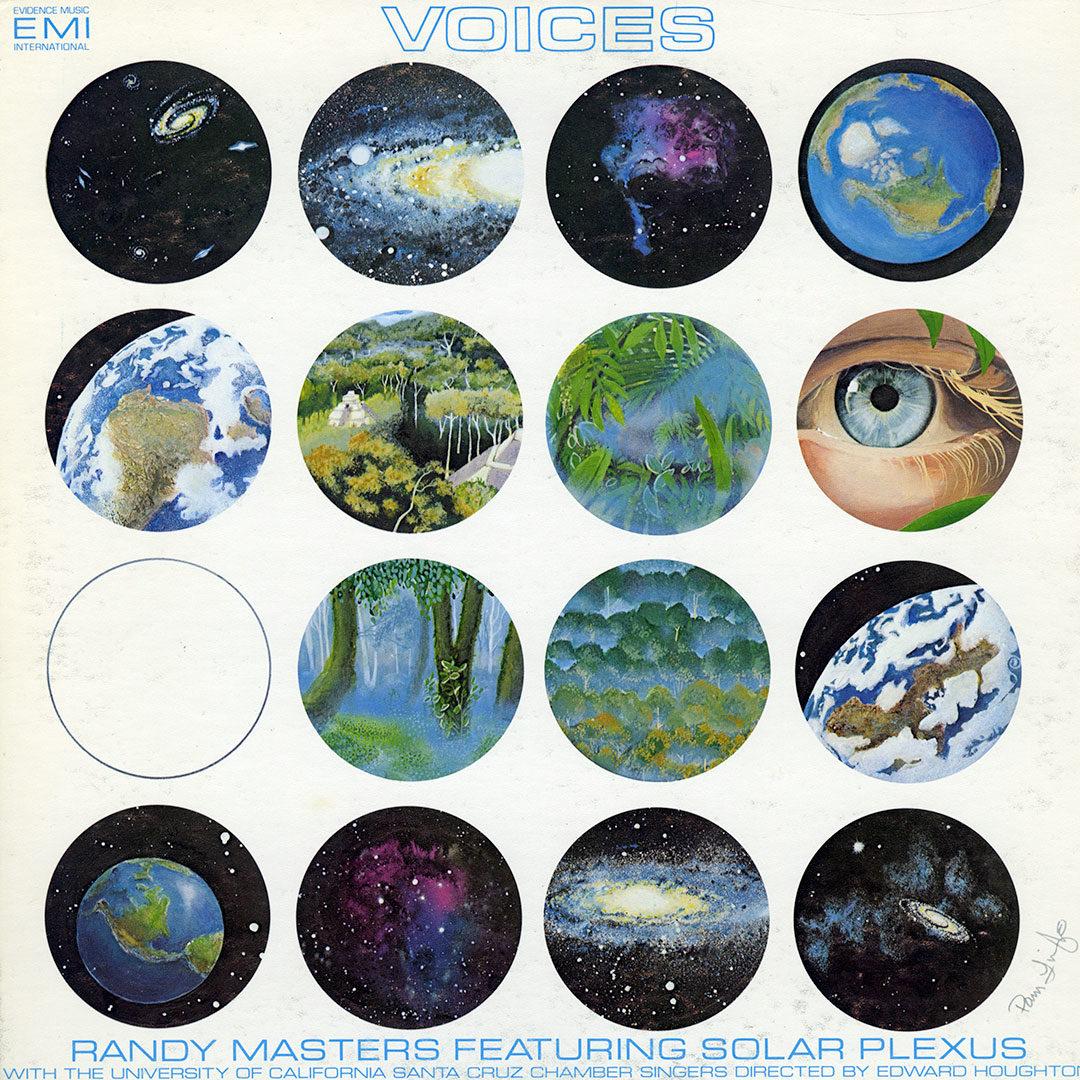 Randy Masters and Solar Plexus Voices Evidence Music International LP, Original Vinyl