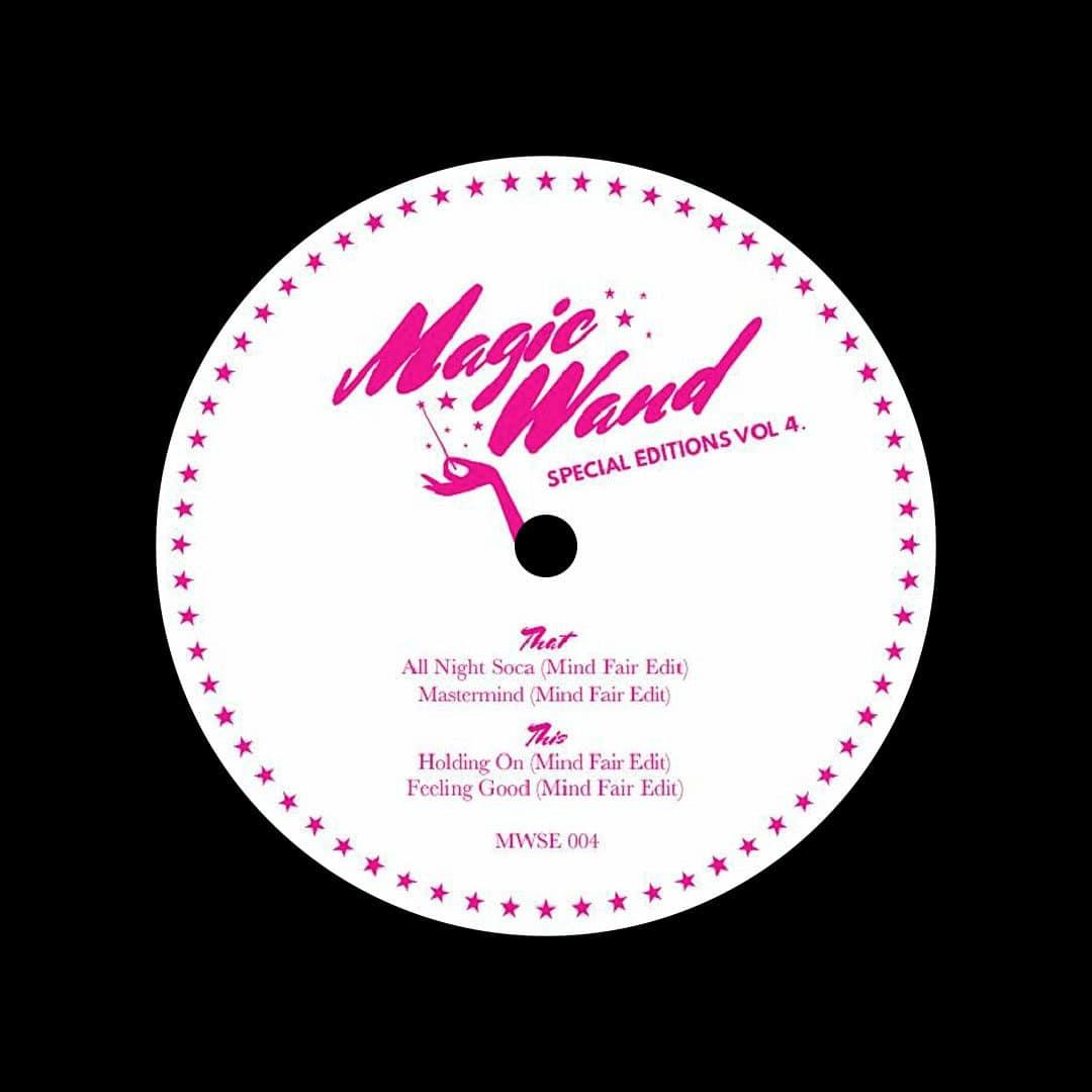 """Mind Fair Magic Wand Special Editions, Vol. 4 Magic Wand 12"""" Vinyl"""