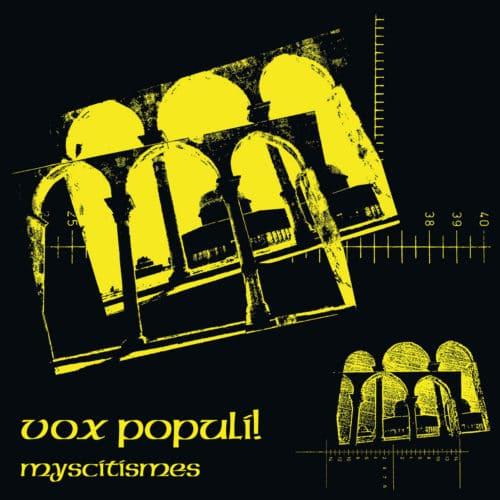 Vox Populi Myscitismes Platform 23 Records LP, Reissue Vinyl