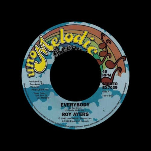 "Roy Ayers Everybody Expansion 7"", Reissue Vinyl"