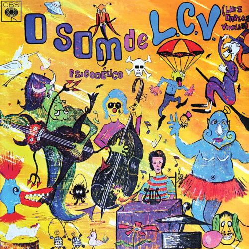 Luiz Carlos Vinhas O Som Psicodélico De LCV Mad About LP, Reissue Vinyl