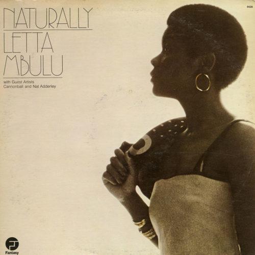 Letta Mbulu Naturally Fantasy LP Vinyl
